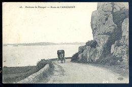 Cpa Du 22 Route De  L' Arcouest    ...  Environs De  Paimpol  SEPT18-29 - Paimpol