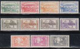 1957    YVERT Nº  175 / 185   /**/ - Nuovi