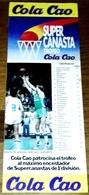Antigua Publicidad - Super Canasta COLA CAO - 28,5x10cm / 1986 - Publicidad