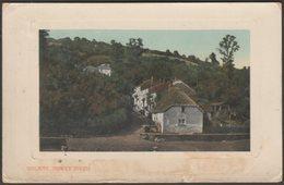 Golant, Fowey River, Cornwall, 1912 - Valentine's Postcard - England