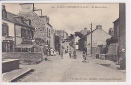 22 SAINT QUAI PORTRIEUX Le Pont Et Chats ,commerce Tabac Avec Carotte ,cycliste - Saint-Quay-Portrieux