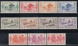 1953    YVERT Nº  155 / 165    /**/ - Leyenda Inglesa