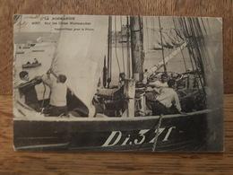 Dieppe - Série La Normandie, Sur Les Cotes Normandes - Appareillage Pour La Pêche Di. 371 - La CPA éditeur N°4057 - Dieppe