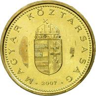 Monnaie, Hongrie, Forint, 2007, Budapest, TTB, Nickel-brass, KM:692 - Hongrie