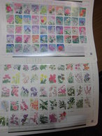 Japan 2011 Blumen Flowers 94 Werte 2x ZD-Bogen Postfrisch MNH Ex 4540-5565 - 1989-... Imperatore Akihito (Periodo Heisei)