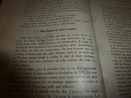 1926 Marchand De Têtes Coupées -->La CHINE QUI S'ÉVEILLE (éd. Des Fleurs & Épines Du Kiang-Si);Recette Infaillible;Etc - Livres, BD, Revues
