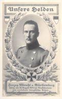 Herzog Albrecht V.Württemberg - Personnages