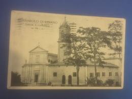 Loiano Barbarolo Chiesa E Canonica Viaggiata 1924 - Bologna