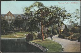 Weston Park, Sheffield, Yorkshire, 1906 - Blum & Degan Postcard - Sheffield
