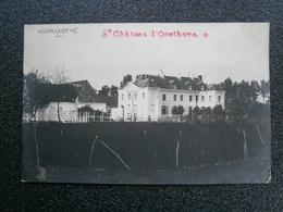 Nieuwkerke - Neuve Eglise - Ploegsteert : Château D'Oosthove ( Fotokaart Met Stempel Van Kasteel ) Zie Scans. TOP !!! - Heuvelland