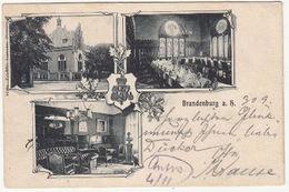 AK Brandenburg An Der Havel- Mehrbildkarte, Bestellt Vom Postamte 40, Gelaufen 1904 - Deutschland