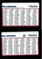 Calendarietto Pubblicitario 2015 - UnipolSai Assicurazioni - Calendari