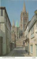 Postcard - A Quaint Street In Truro - Card No.A13b - Unused Very Good - Postcards