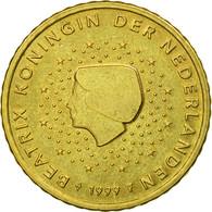 Pays-Bas, 50 Euro Cent, 1999, TTB, Laiton, KM:239 - Pays-Bas