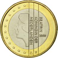 Pays-Bas, Euro, 2008, SUP, Bi-Metallic, KM:271 - Pays-Bas