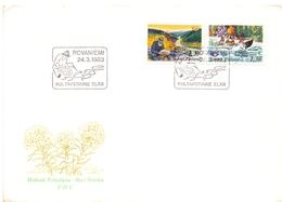 FINLAND 1983 GOLD RESEARCH COVER  (OTT180036) - Finlandia
