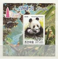 North Korea 2005 Pandas-Asia 05 O/P M.S. UM - Corea Del Norte