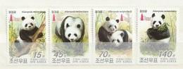 North Korea 2005 Pandas-Asia 05 O/P (4) UM - Corea Del Norte