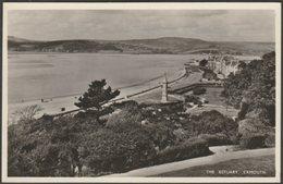 The Estuary, Exmouth, Devon, C.1950s - Millar & Lang RP Postcard - England