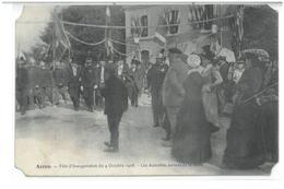 ARROU   Fete 1908 Gare - Autres Communes