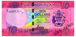 SOLOMON ISLANDS 10 DOLLARS ND(2017) Pick 33 Unc - Solomon Islands