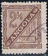 Angola, 1893/4, # 24 Dent. 12 1/2, Used - Angola
