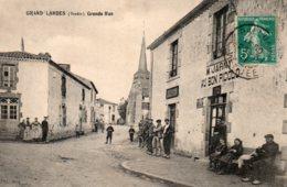 Grand'Landes : Grande Rue - France