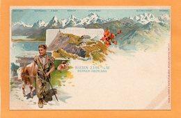 Niesen Switzerland 1900 Postcard - BE Berne