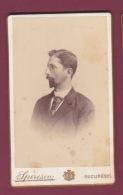 021018A - PHOTO CDV SPIRESCU BUCURESCI ROUMANIE -  Homme De Profil Lunettes - Rumania