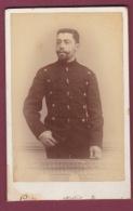 021018A - PHOTO CDV LOUIS BUCURESCI ROUMANIE - MILITARIA 1894 - Rumania