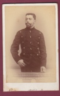 021018A - PHOTO CDV LOUIS BUCURESCI ROUMANIE - MILITARIA 1894 - Romania