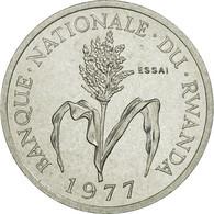 Monnaie, Rwanda, Franc, 1977, Paris, ESSAI, FDC, Aluminium, KM:E4 - Rwanda