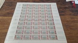 LOT 418692 TIMBRE DE FRANCE NEUF** LUXE FEUILLE N°1256 VALEUR 40 EUROS  BLOC - Feuilles Complètes