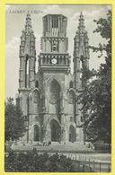 * Laken - Laeken (Brussel - Bruxelles) * L'église, Kerk, Church, Animée, Kirche, Rare, Old, CPA - Laeken