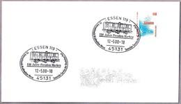 VAGON POSTAL - POSTAL WAGON - BAHNPOST. Essen 2000 - Correo Postal