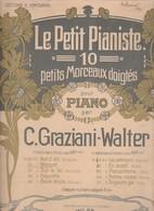 Spartito LE PETITE PIANISTE - Graziani - Walter - Carisch & Janichen Di Milano - Spartiti