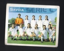 Figurina Calciatori Italiani Merlin 1999 -  Savoia  - N.608  La Squadra  - Football - Soccer - Socker - Fussball - Stickers