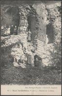 Ruines De Château, Auxi-le-Château, Pas-de-Calais, C.1910 - Mortagne-Riquier CPA - Auxi Le Chateau