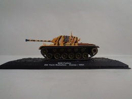Véhicule  M 46 PATTON - 6th Tank Battalion   Koréa  1951  1/72- Neuf - Altaya - Voitures, Camions, Bus
