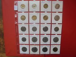 POLOGNE LOT 20 MONNAIES ENTRE 1974 Et 1998 - Coins & Banknotes