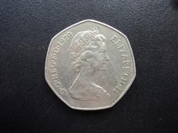 ROYAUME UNI : 50 NEW PENCE   1979   KM 913    SUP - 1971-… : Monnaies Décimales