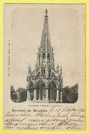 * Laken - Laeken (Brussel - Bruxelles) * (Ed Nels, Série 1, Nr 6) Monument Leopold I, Mémorial, Rare, Old, CPA 1900 - Laeken