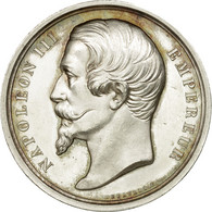 France, Jeton, Napoléon III, Comité Impérial Des Travaux Historiques, 1858 - France