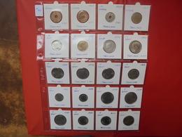 THAILANDE LOT 20 MONNAIES ENTRE 1937 Et 2000 - Coins & Banknotes