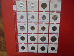 CONGO-ZAIRE-KATANGA LOT 20 MONNAIES DIFFERENTES ENTRE 1961 Et 2002 - Coins & Banknotes