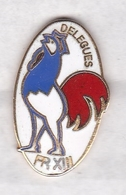 Magnifique Pin's RUGBY XIII COQ FRANCE FR XIII - Rugby