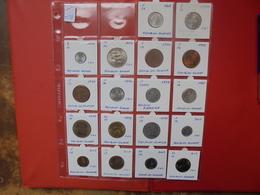RWANDA LOT 18 MONNAIES DIFFERENTES ENTRE 1969 Et 2003 - Monnaies & Billets
