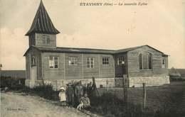 OISE ETAVIGNY  La Nouvelle église - France