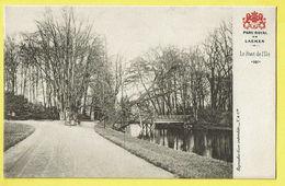 * Laken - Laeken (Brussel - Bruxelles) * (Vanderauwera & Cie) Parc Royal De Laeken, Le Pont De L'ile, Brug, TOP - Laeken