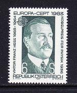 Europa Cept 1983 Austria 1v ** Mnh (40912D) ROCK BOTTOM - 1983